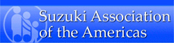 Suzuki Association of the Americas - CLICK for linkage.